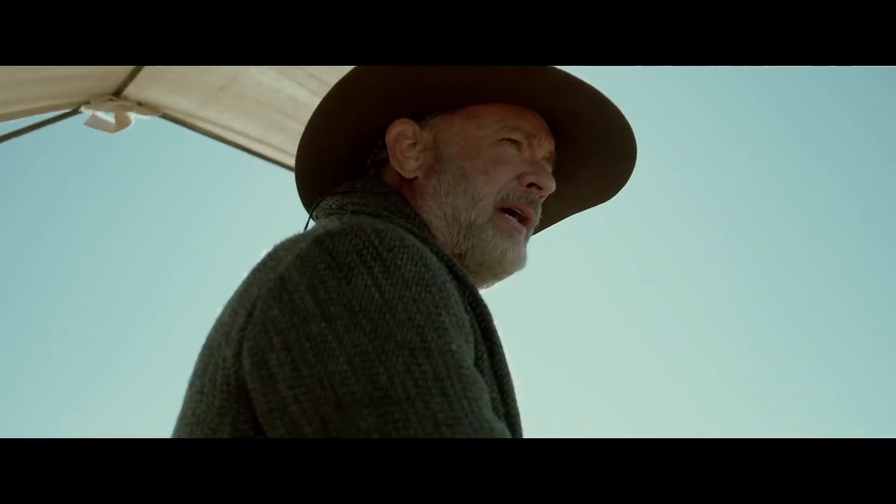 NEWS OF THE WORLD Official Trailer 2020 Tom Hanks Western Movie Movie HD