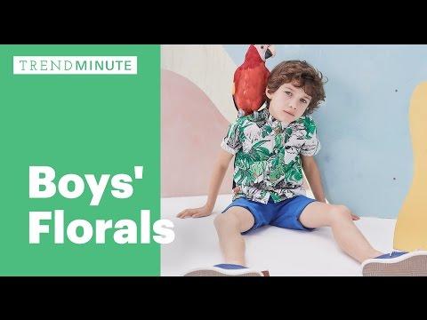 Trend Minute: Boy's Florals