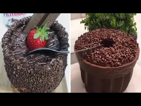 how-to-make-an-easy-and-delicious-chocolate-cake---the-most-satisfying-cakes-compilation!-🍰🍰👏👏