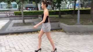 如何駕馭高跟鞋 How to walk in heels Nancy