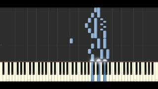 Bach - Sinfonia in a minor, BWV 799 - Piano Tutorial Synthesia