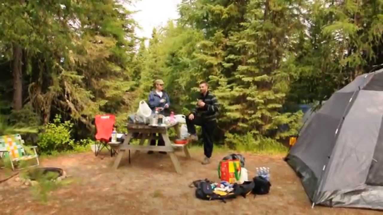 camping La Roche - Parc National des Grands Jardins - YouTube