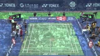 2014 YONEX CHINESE TAIPEI OPEN- SF- MS - Match 5