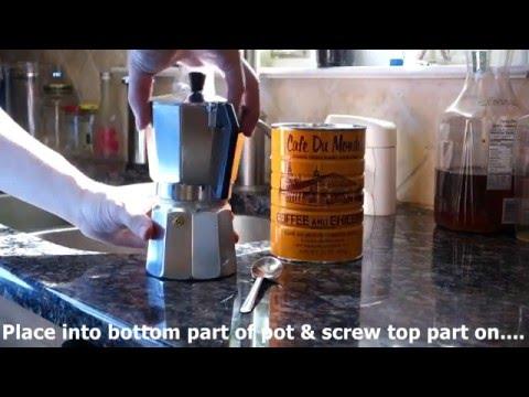 6 Cup Aluminum Stovetop Italian Moka Espresso Maker REVIEW