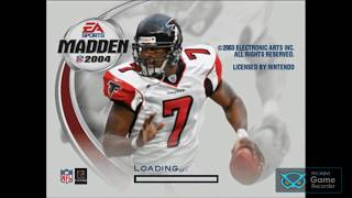 Madden 2004 gameplay