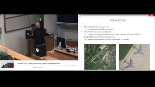 Martin Vetterli: Wavelets and signal processing: a match made in heaven