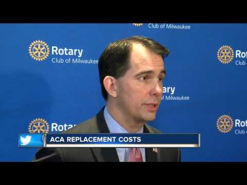 Gov. Walker on healthcare reform bill