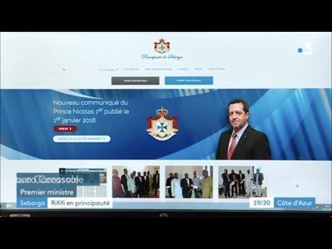 France 3 - JT 19/20 Cote d'Azur - Coup d'Etat virtuel à Seborga - 24 luglio 2018