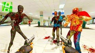 Counter Strike Source - Zombie Horde Mod Online Gameplay on de_paris_subway map