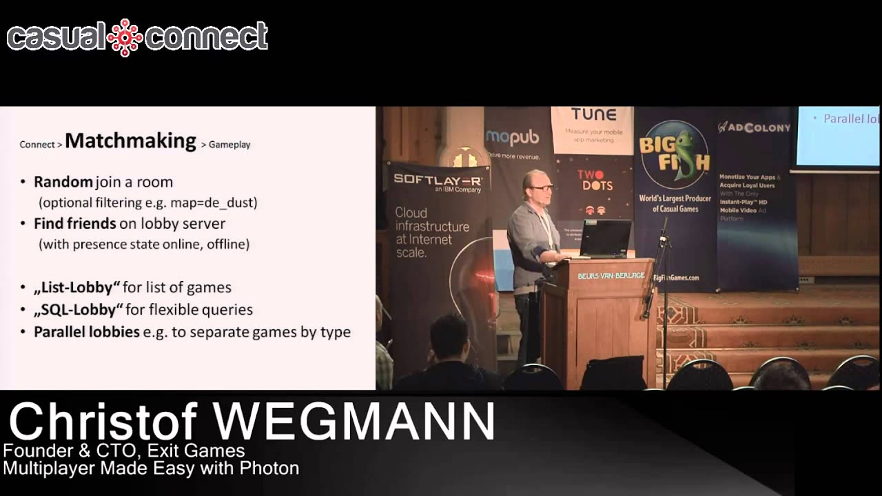 Photon networking matchmaking