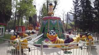 Аттракцион Пчелы для маленьких детей в парке Муштаиды(Аттракцион Пчелы для маленьких детей в парке Муштаиды - Старый парк в Тбилиси, особенно для детей. Парк нахо..., 2016-05-22T13:26:33.000Z)