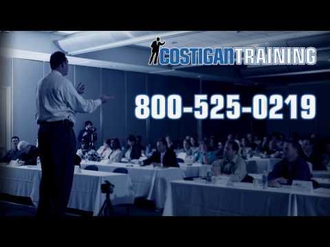 Cambridge MA Training Delivery Techniques With John Costigan