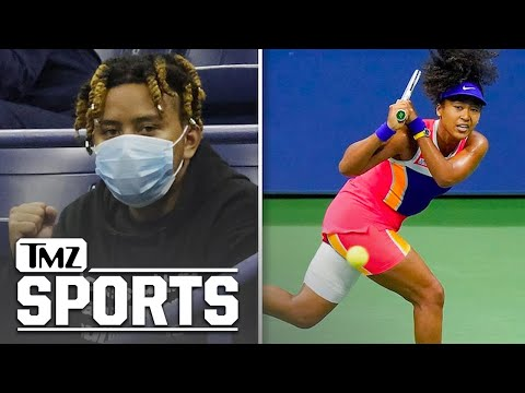 Naomi-Osakas-BF-Rapper-Cordae-Cheers-On-Tennis-Star-From-Stands-At-US-Open-TMZ-Sports