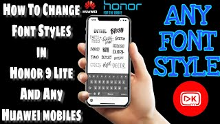 How to change font on huawei android phone emui videos