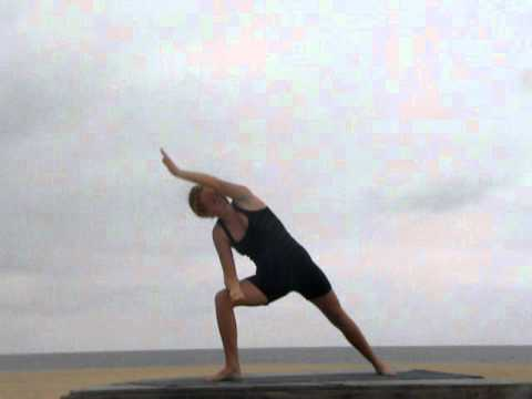 yandara standing flow yoga sequence  youtube