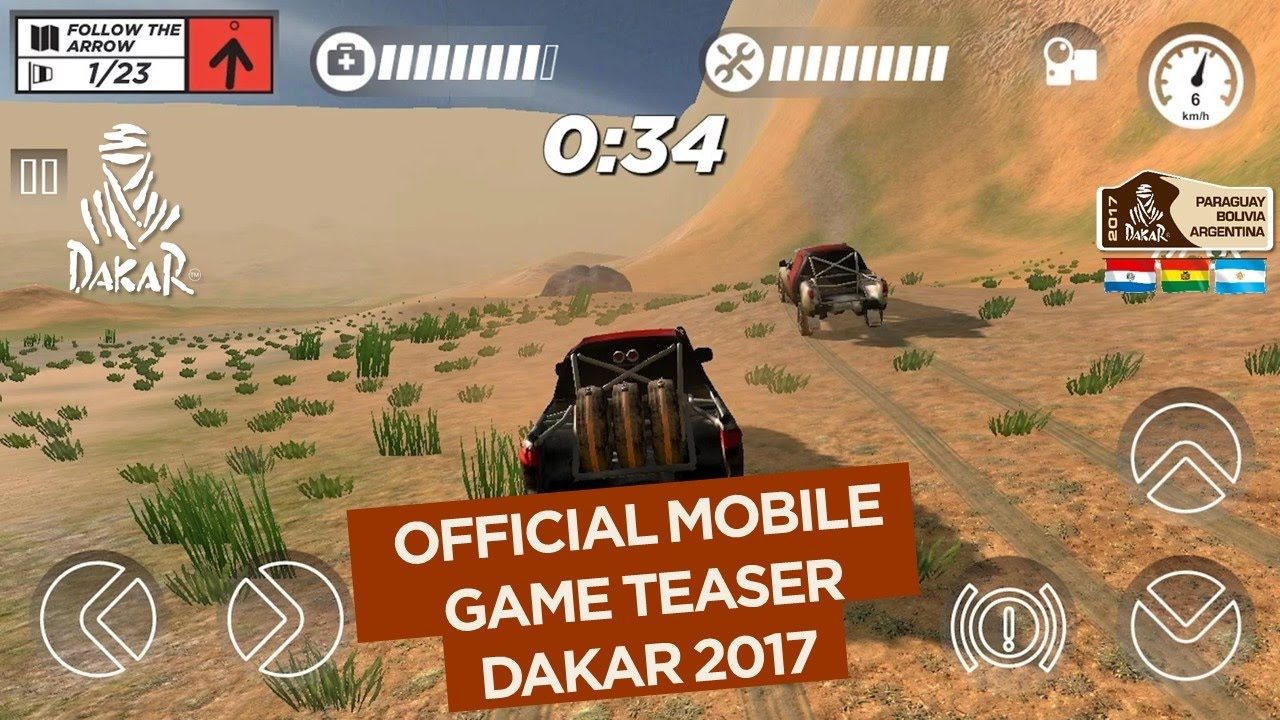 2017 dakar mobile game official teaser youtube. Black Bedroom Furniture Sets. Home Design Ideas