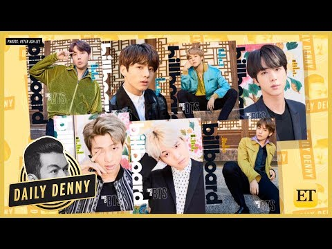 BTS Makes History AGAIN With Stunning Solo Billboard Magazine Covers | Daily Denny