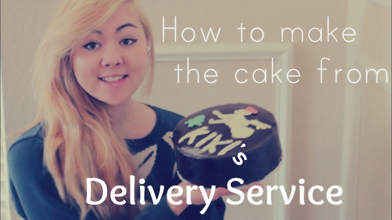 Kikis Delivery Service Cake YouTube