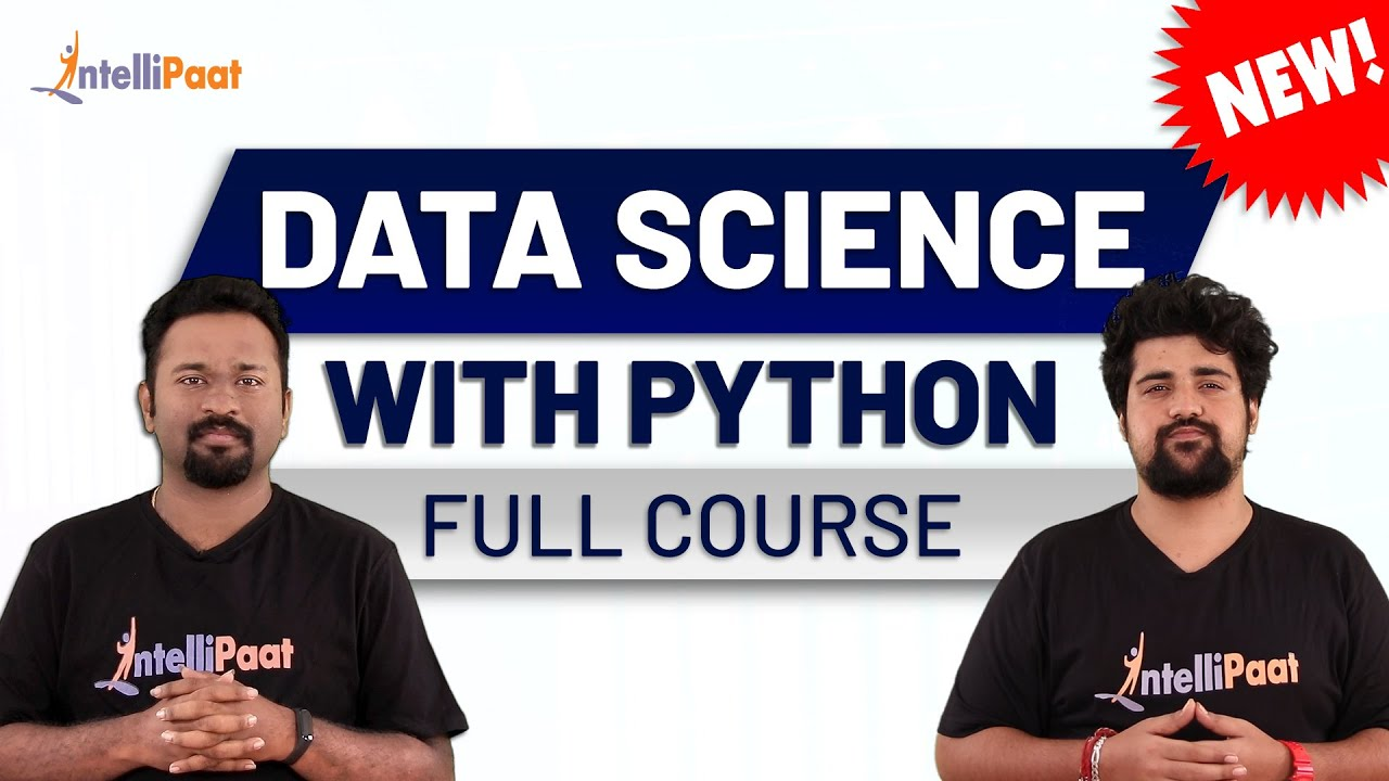 Data Science Python Course | Python with Data Science Course | Intellipaat