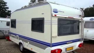 Caravan te koop: HOBBY 450 UF DE LUXE BJ. 2005 MET MOVER