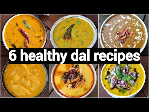 6 easy and quick dal recipes collection | 6 दाल रेसिपी | restaurant style dal recipes within minutes