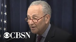 Sen. Chuck Schumer calls for Mueller report to be made public