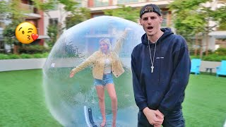 GOING ON A DATE IN A BUBBLE
