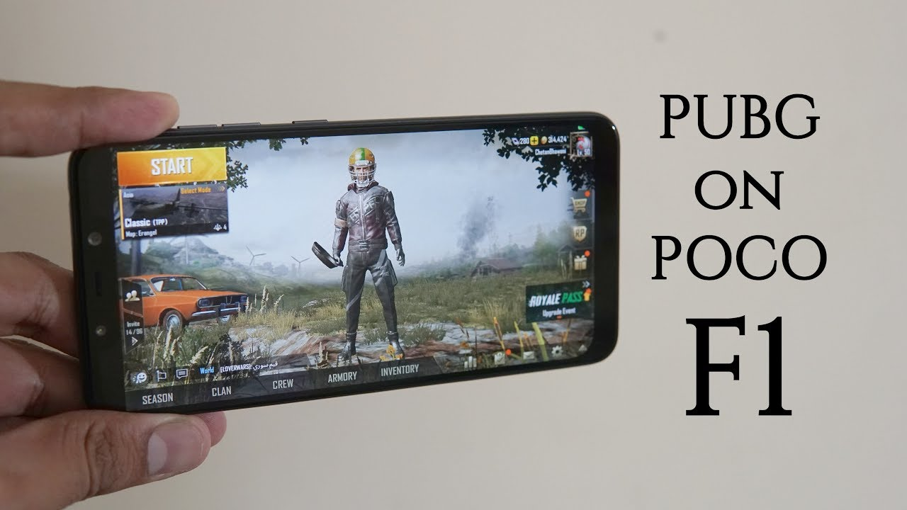 POCO F1 PUBG Mobile Gaming Review, GPU Performance Test - How does it play?