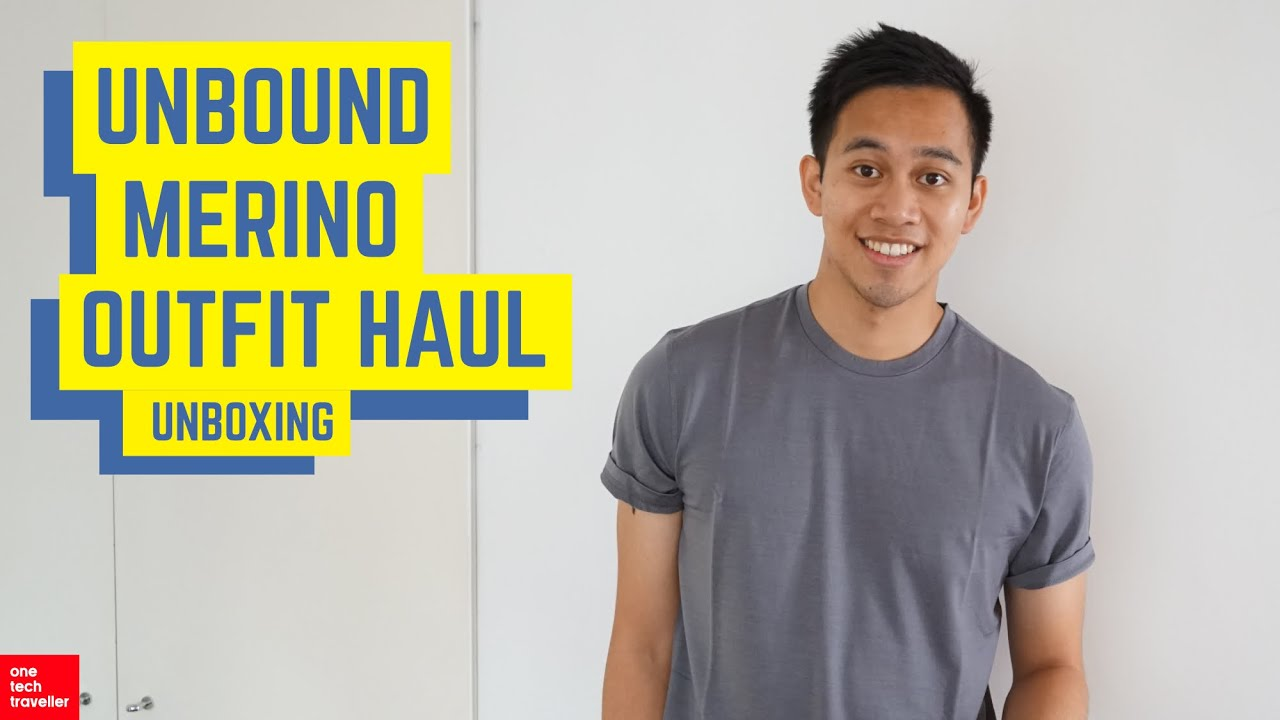 2622ef4de1220e Unbound Merino Travel Bundle Unboxing! - YouTube