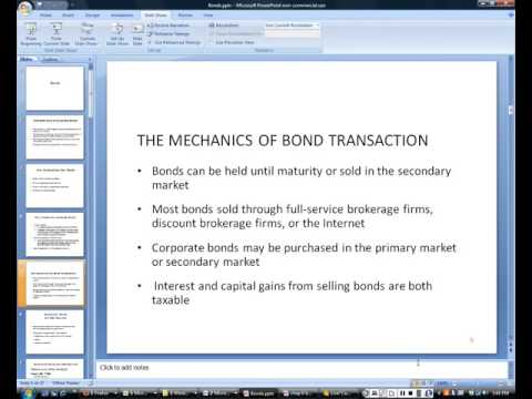 Bonds overview