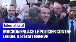 Emmanuel Macron enlace le policier israélien contre lequel il s'était énervé