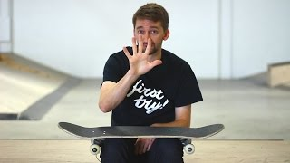 THE 5 EASIEST SKATEBOARD TRICKS FOR BEGINNERS
