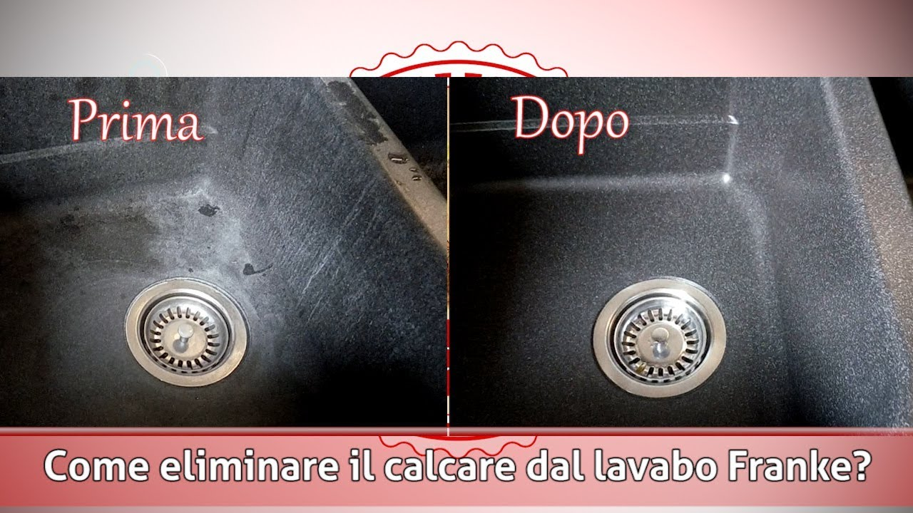Come Pulire Il Lavabo In Resina.How To Clean Franke Sink