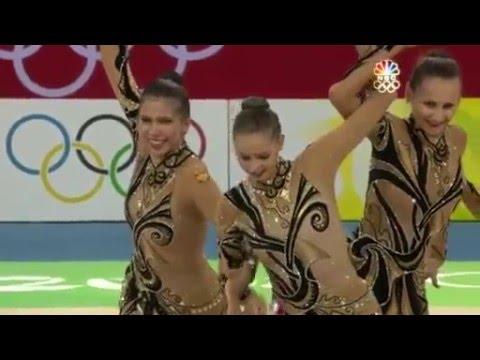 Rhythmic Gymnastics Beijing 2008 Olympic  group final