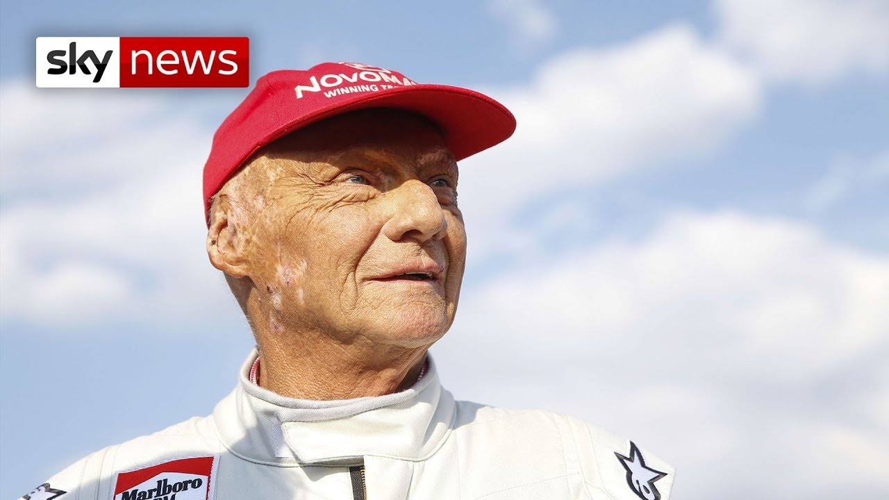 Niki Lauda: Tributes paid after F1 legend dies