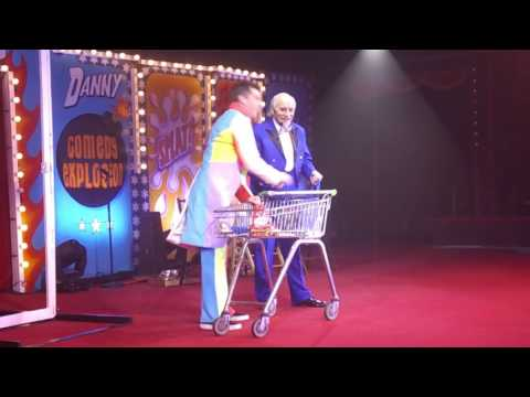 sweet trolley Sketch  Cirque Du Hilarious Great Yarmouth Hippodrome 2017