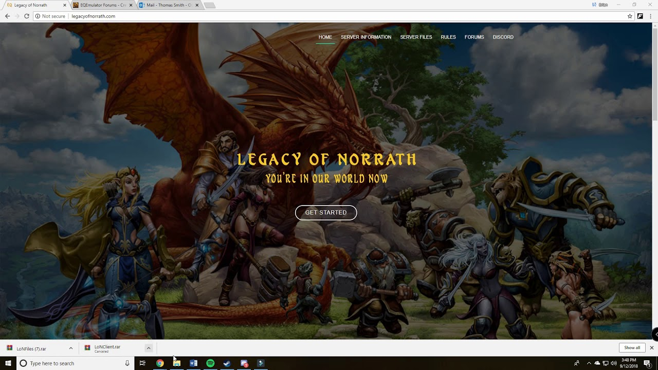 Legacy of Norrath Installation