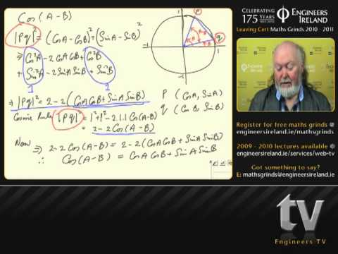 Trigonometry II - Leaving Certificate Maths Tutorial
