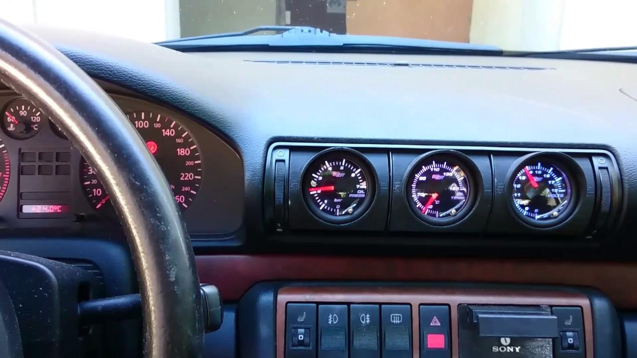 Glowshift Dodatkowe Zegary Audi A4 B5 Youtube