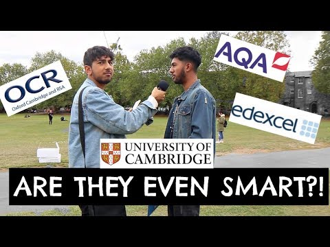 Asking Cambridge University Students GCSE Questions!