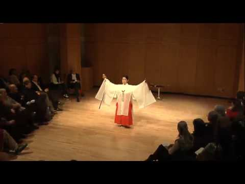 Kagura: Shinto Temple Dance from Early Japan with Miho Takayasu (Japan), March 18th 2013