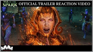 REACTION: War of the Spark Official Trailer - This is SO INTENSE!