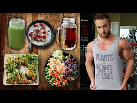 EATING FOR LEAN VEGAN MUSCLE | FULL DAY OF TASTY MEALS