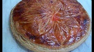 La Galette Des Rois Aux Pommes - Apprendre La Pâtisserie