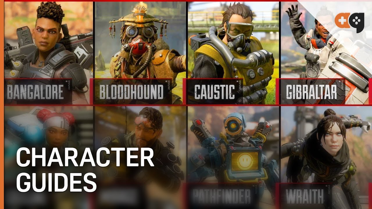 Apex Legends: All Characters Guide / Breakdown #1