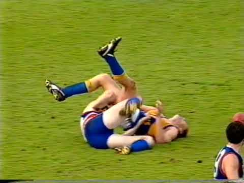 1993 Round 21 Footscray Vs West Coast at the Western Oval