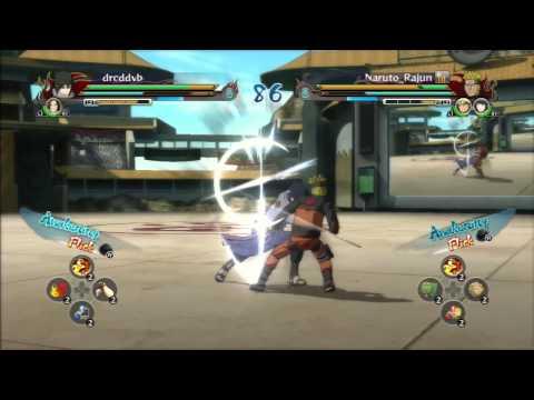 Tutorial Main Game Naruto Revolution