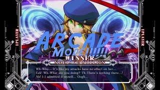 "BlazBlue: Continuum Shift Extend Arcade Mode ""Noel Vermillion"""