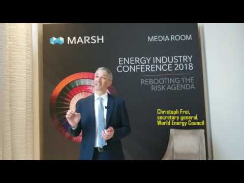 Christoph Frei on the 2019 World Energy Congress