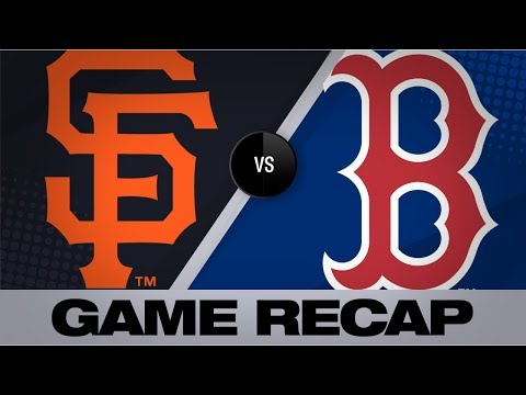 Devers, Bogaerts help Red Sox top Giants | Giants-Red Sox Game Highlights 9/19/19
